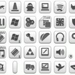 Kolekcja darmowych ikon