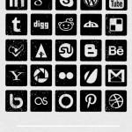 Ikony do portali spolecznościowych