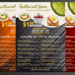 32 przykłady menu dla kawiarni i restauracji