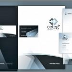 45 przykładów corporate identity oraz materiałów drukowanych - inspiracje