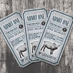 15 oryginalnych projektów biletów - inspiracje